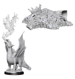 WizKids WZK: NMM: W11: Gold Dragon Wyrmling & Small Treasure Pile