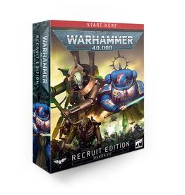 GW: Games Workshop GW: 40K:  Recruit Edition