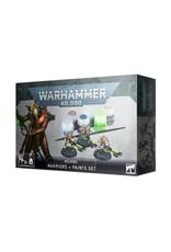 GW: Games Workshop GW: 40K: Necron Warriors + Paint Set
