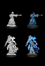 WizKids WZK NMU Minis: W12: Female Elf Wizard