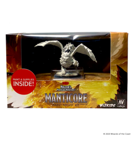 WizKids WZK NMU Minis: W12: Paint Night Kit- Manticore