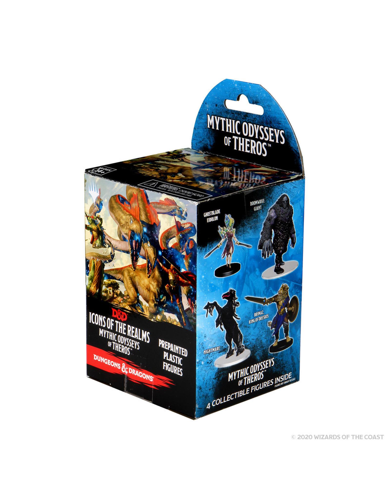 WizKids WZK D&D: IotR: Set 16: Mythic Oddysseys of Theros Booster Box (8 pack)