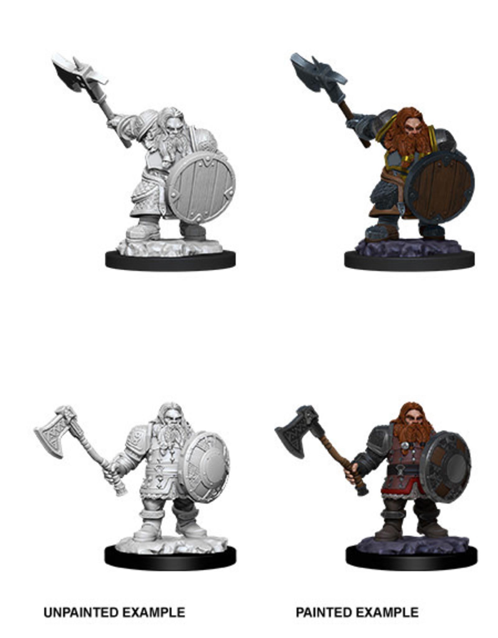 WizKids WZK D&D Minis: W11: Male Dwarf Fighter