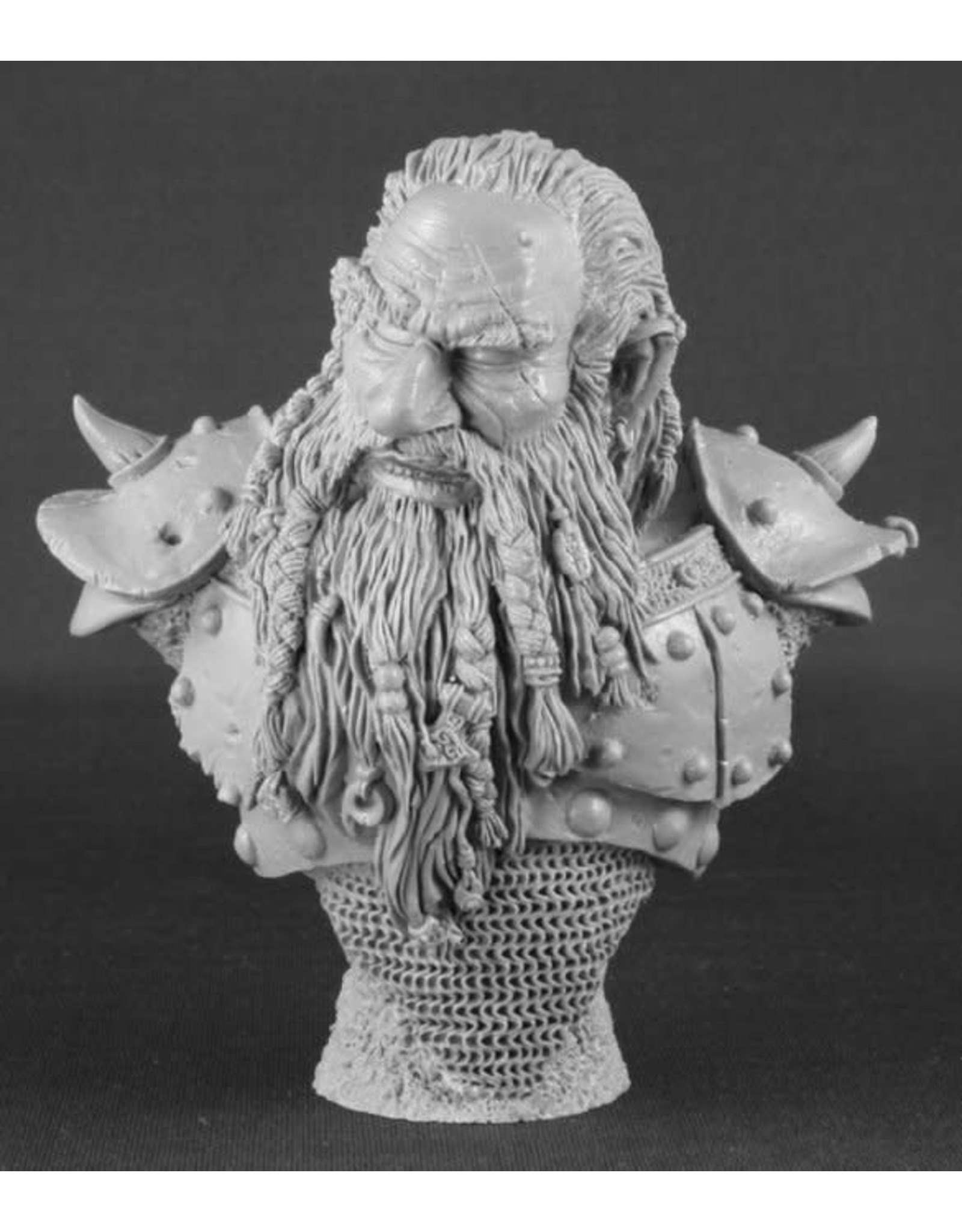 Reaper Reaper: The Grudge (resin dwarf Bust)