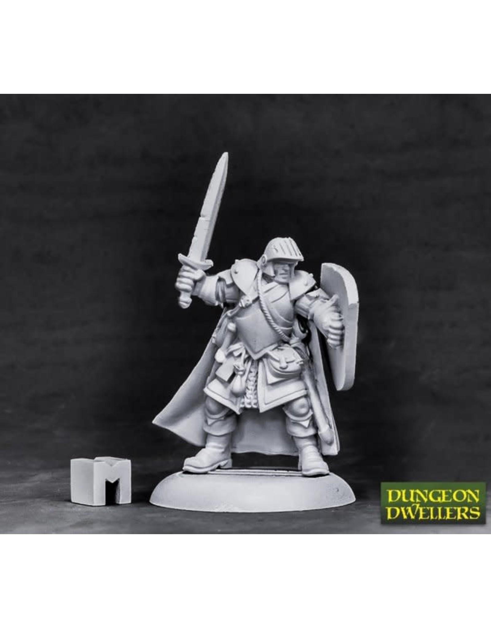 Reaper Dungeon Dwellers: Baran Blacktree, Veteran Warrior