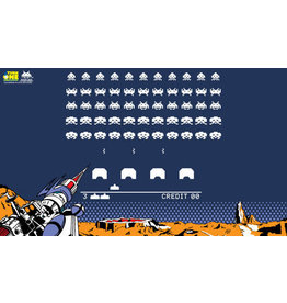 TurnOne: Space Invaders  Retro Playmat