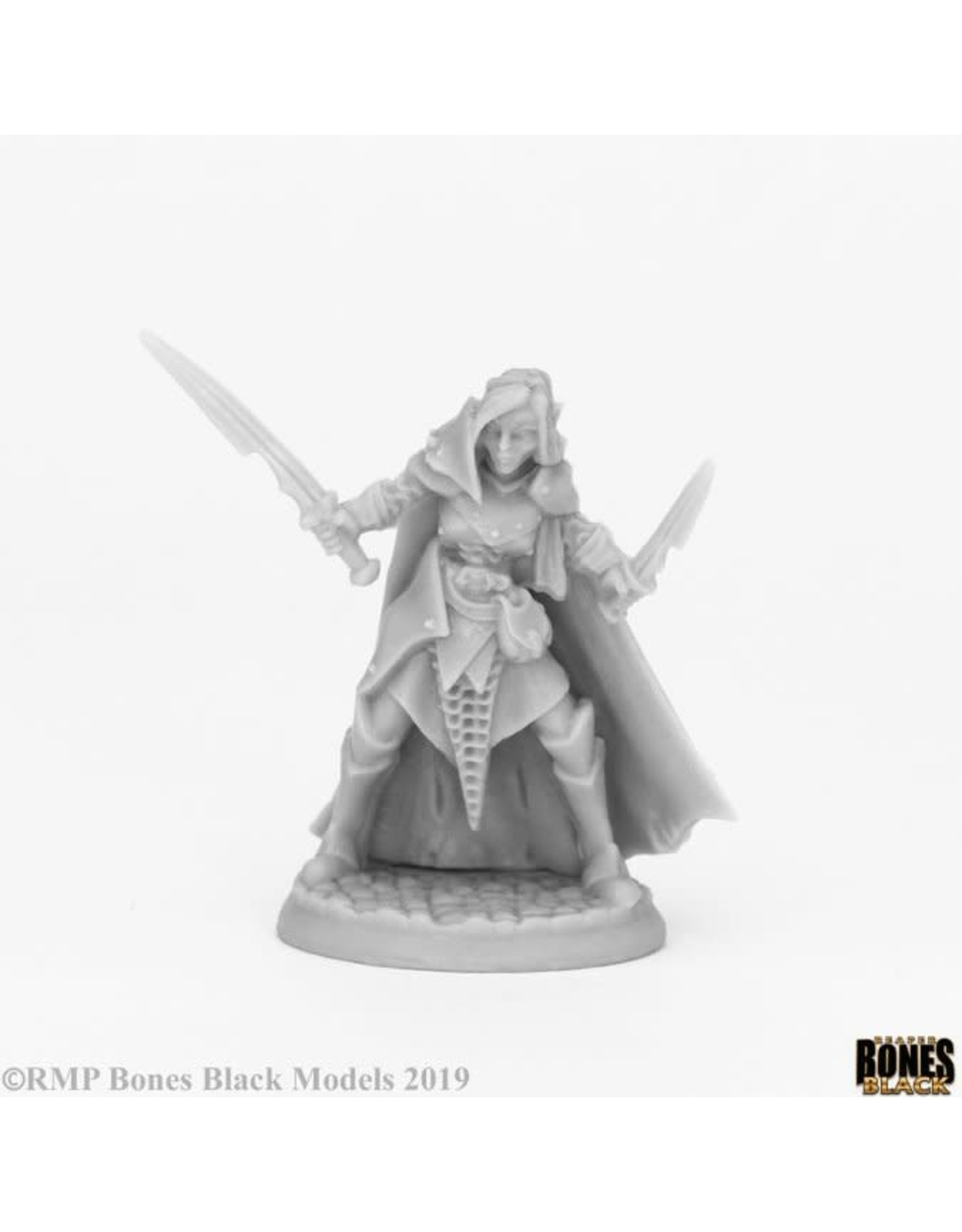 Reaper Reaper: Bones Black: Dark Elf Female Warrior