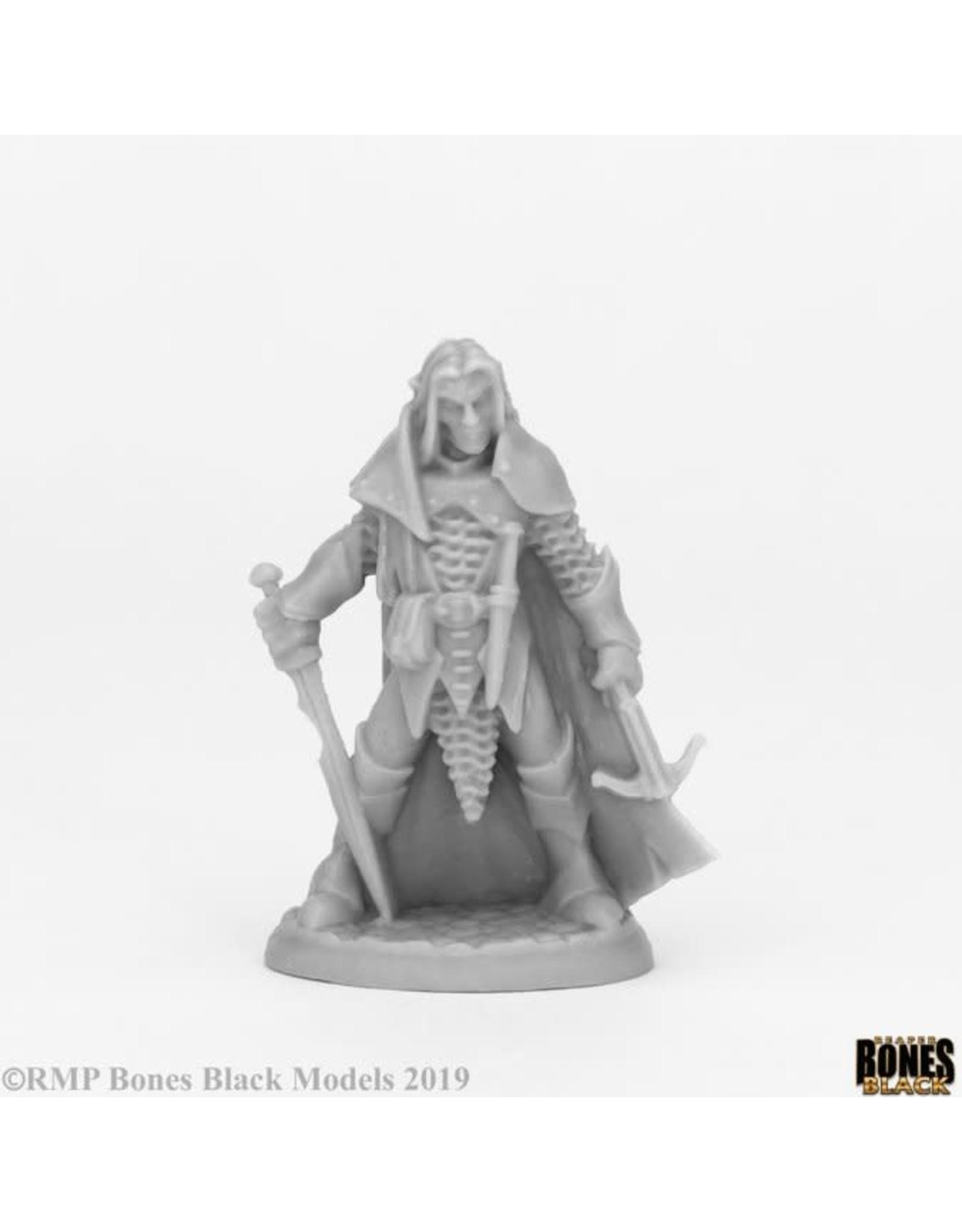 Reaper Reaper: Bones Black: Dark Elf Male Warrior