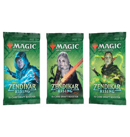 Wizards of the Coast MtG: Zendikar Rising Draft Booster Pack