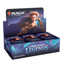 Wizards of the Coast MtG: Commander Legends Booster Display
