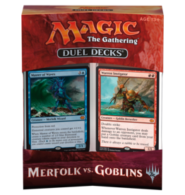 Wizards of the Coast MtG: Duel Decks: Merfolk vs Goblins