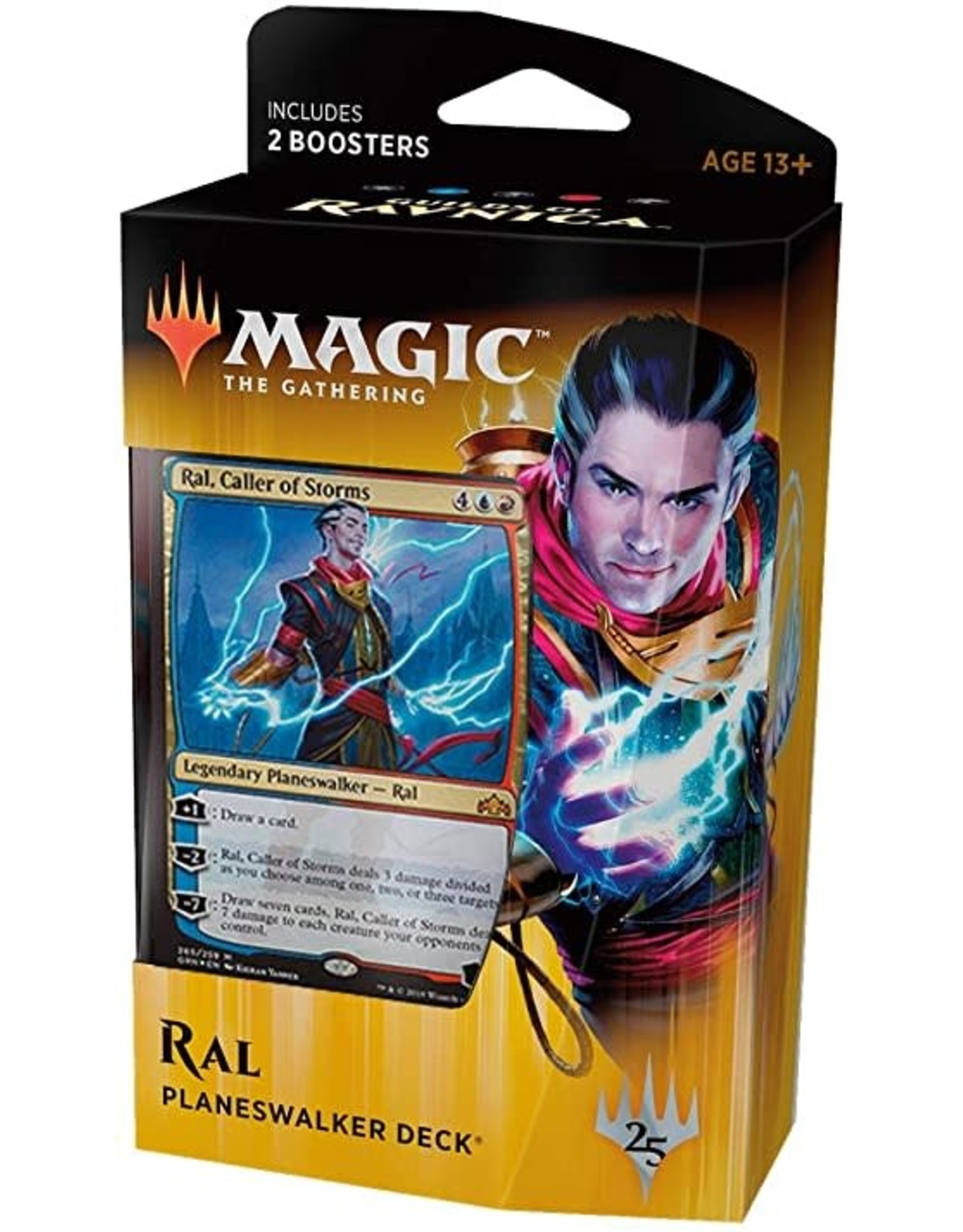 Wizards of the Coast MtG: Guilds of Ravnica - Planeswalker Deck - Ral
