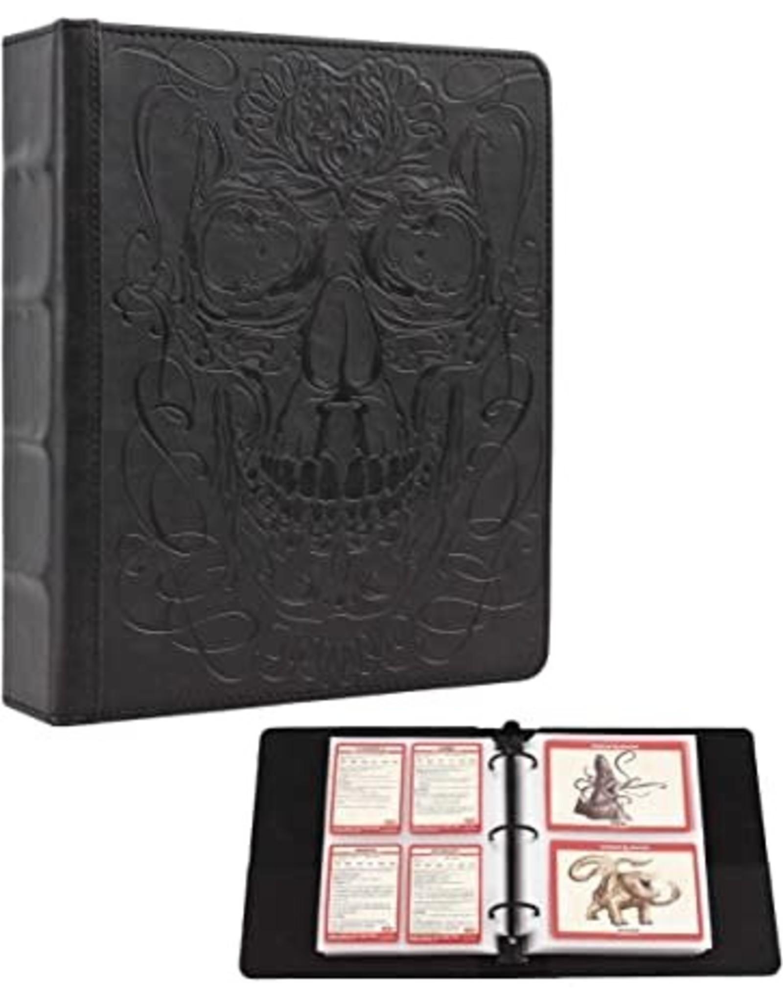 ForgedDice: Curiosities Cache Card Binder  (Skull Edition)