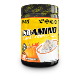 MAN SPORTS ISO-AMINO Coffee Creamer Bliss 30 SERV