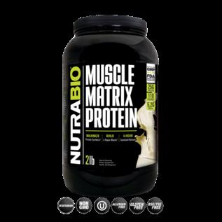 NUTRABIO Muscle Matrix Protein 2 lb