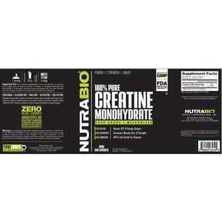 NUTRABIO Creatine Monohydrate 500g