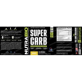 NUTRABIO SUPERCARB Performance & Recovery