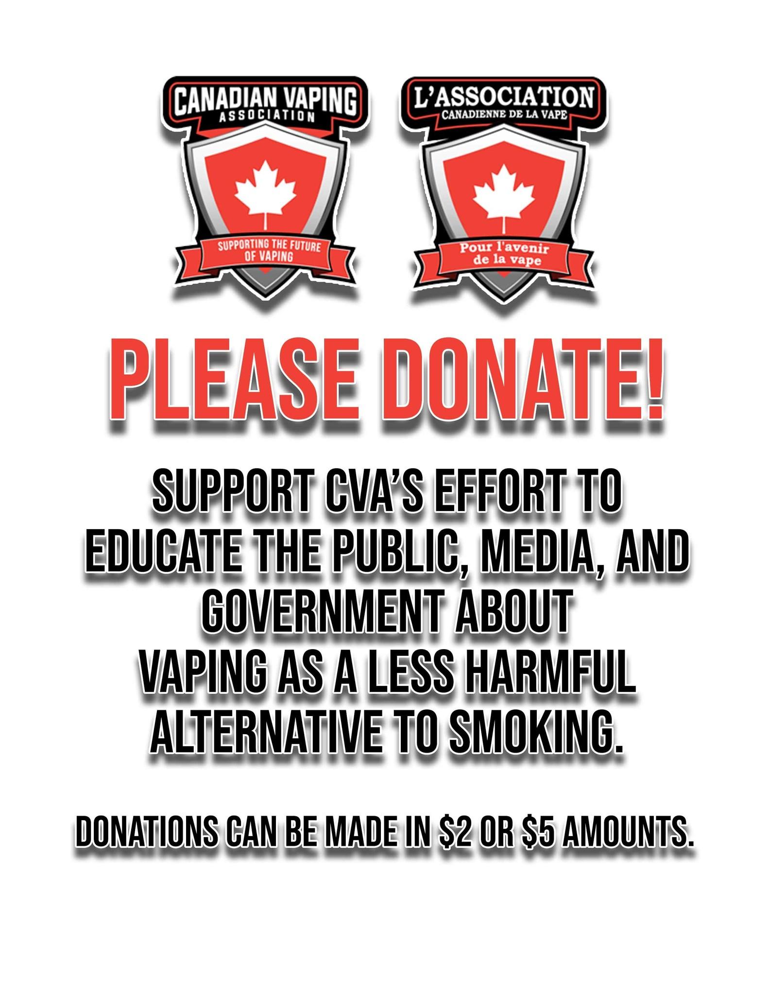 CVA Donation $5.00