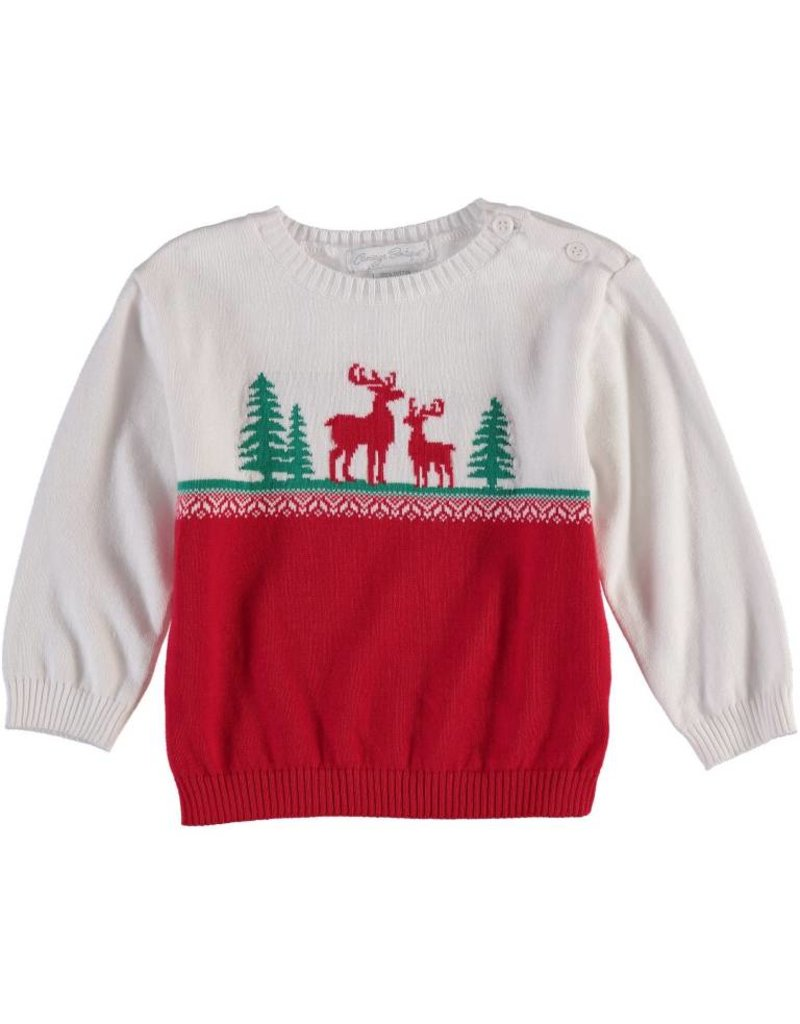 Carriage Boutique Reindeer Crewneck Sweater