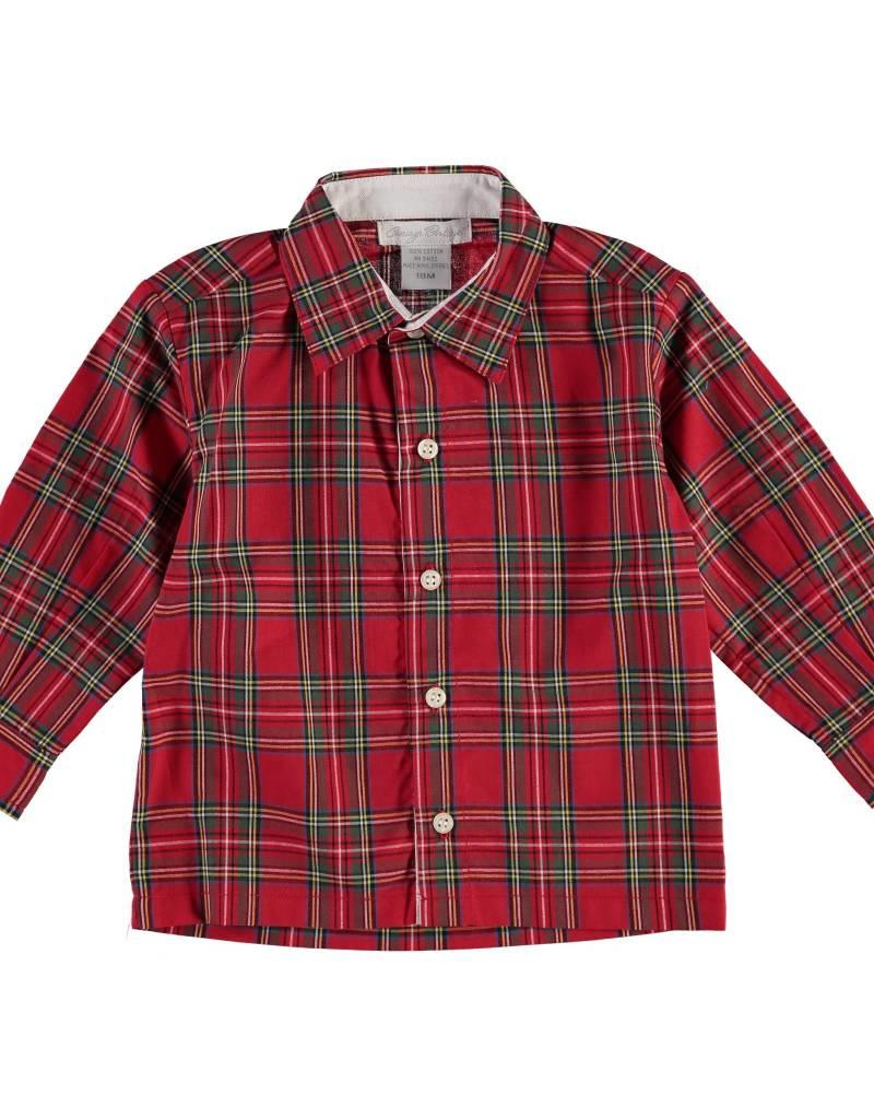 Carriage Boutique Red Plaid Shirt