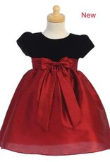 Red & Black Holiday Dress