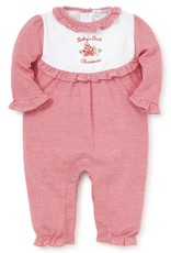 Kissy Kissy First Christmas Playsuit