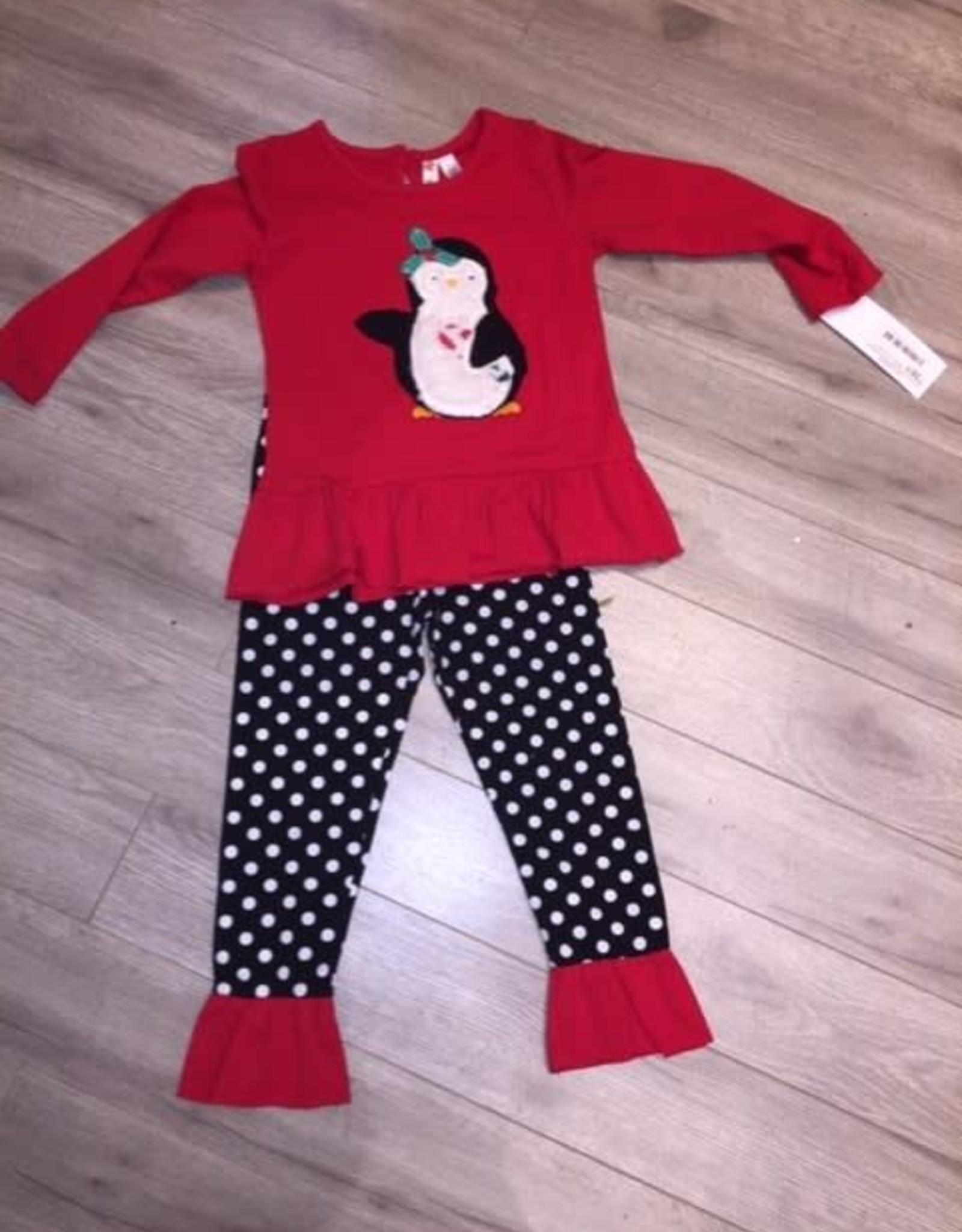 Penguin tunic set