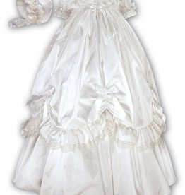 Ivory Silk Gown - 3 Month Size