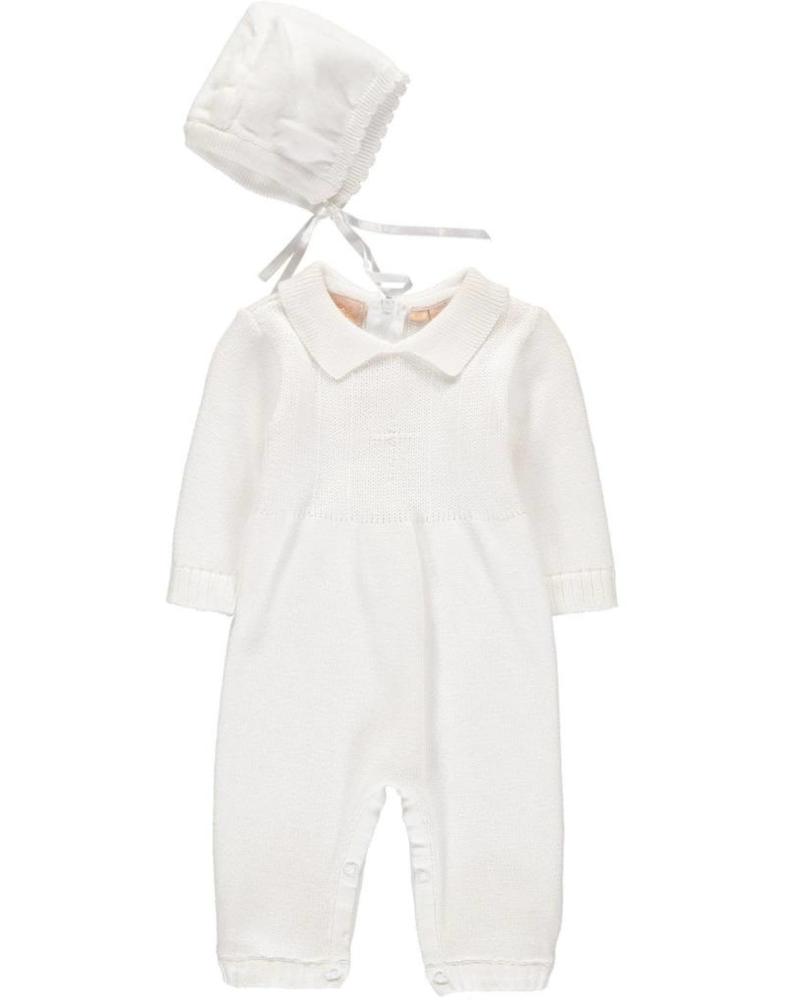 Cross Coverall & Hat