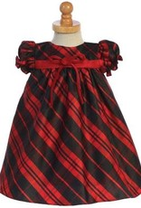 Red Plaid Baby Dress