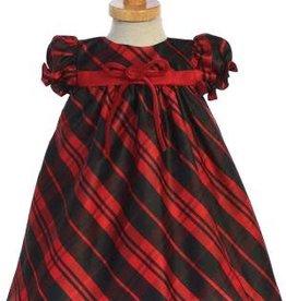 Red Plaid Baby Dress