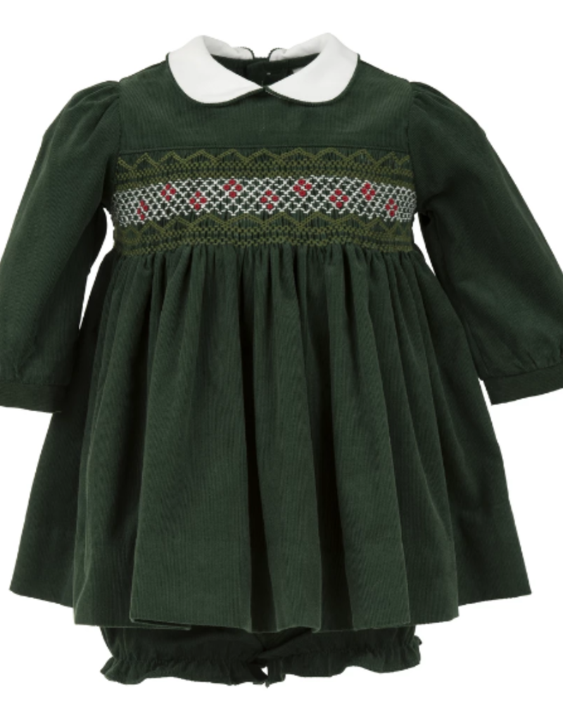 Carriage Boutique L/S Dress - Santa Sleigh