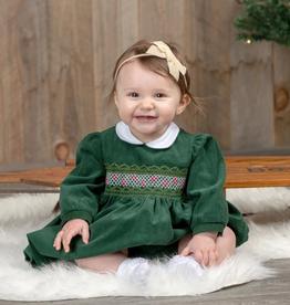 Carriage Boutique L/S Dress - Santa Sleigh