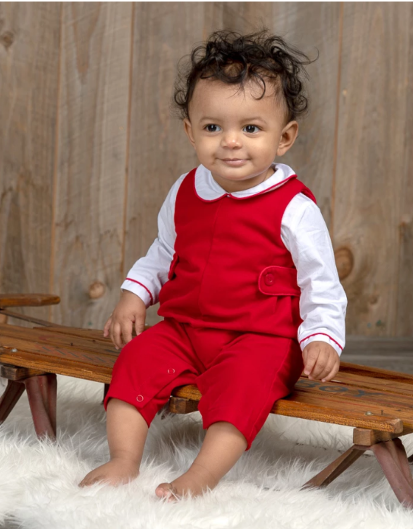 Carriage Boutique Red Velvet 2 Piece Outfit