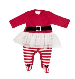 Haute Baby Ho Ho Ho Skirt Footie