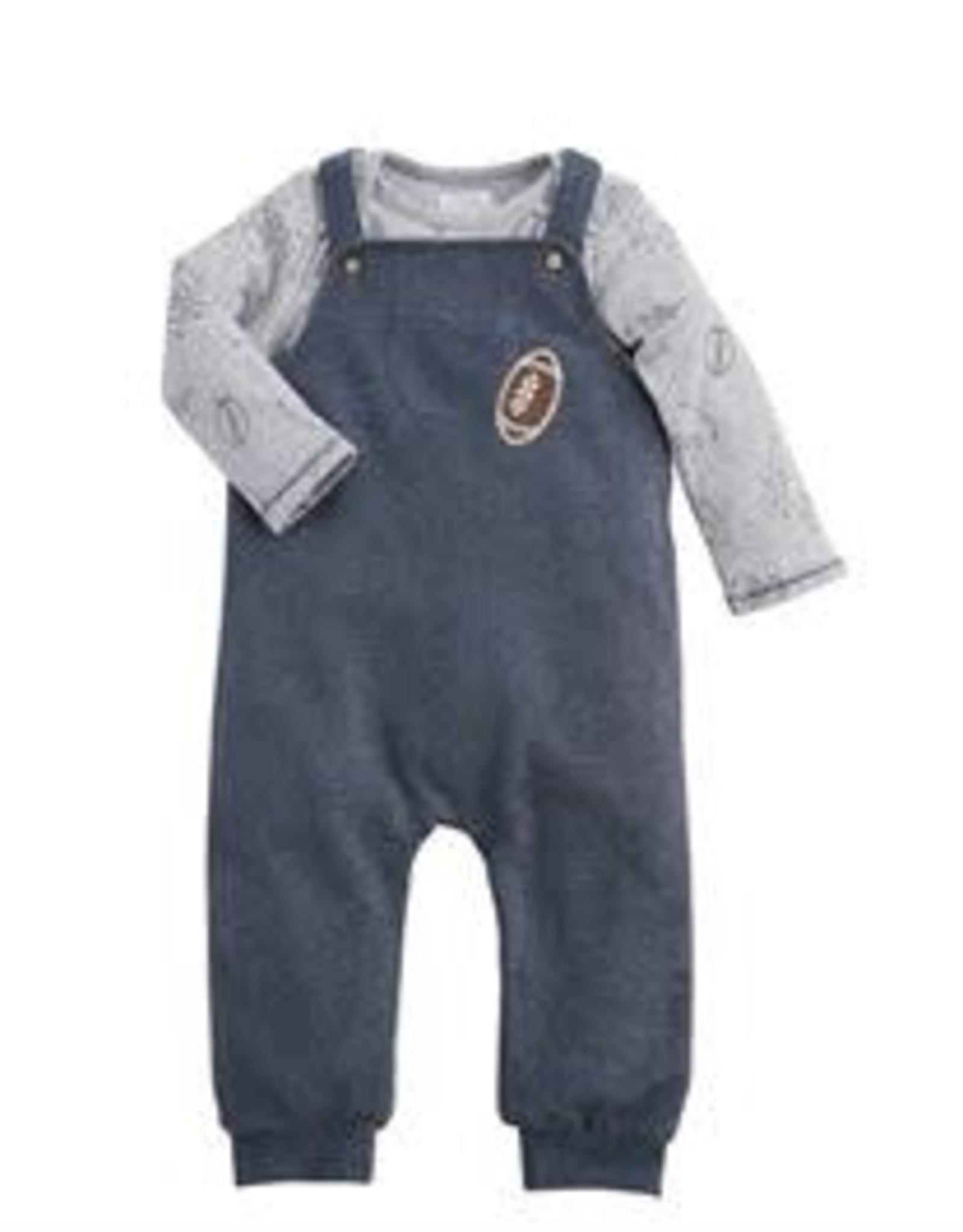 All Boy Overall & Shirt Set