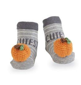 Pumpkin Rattle Toe (2 styles)