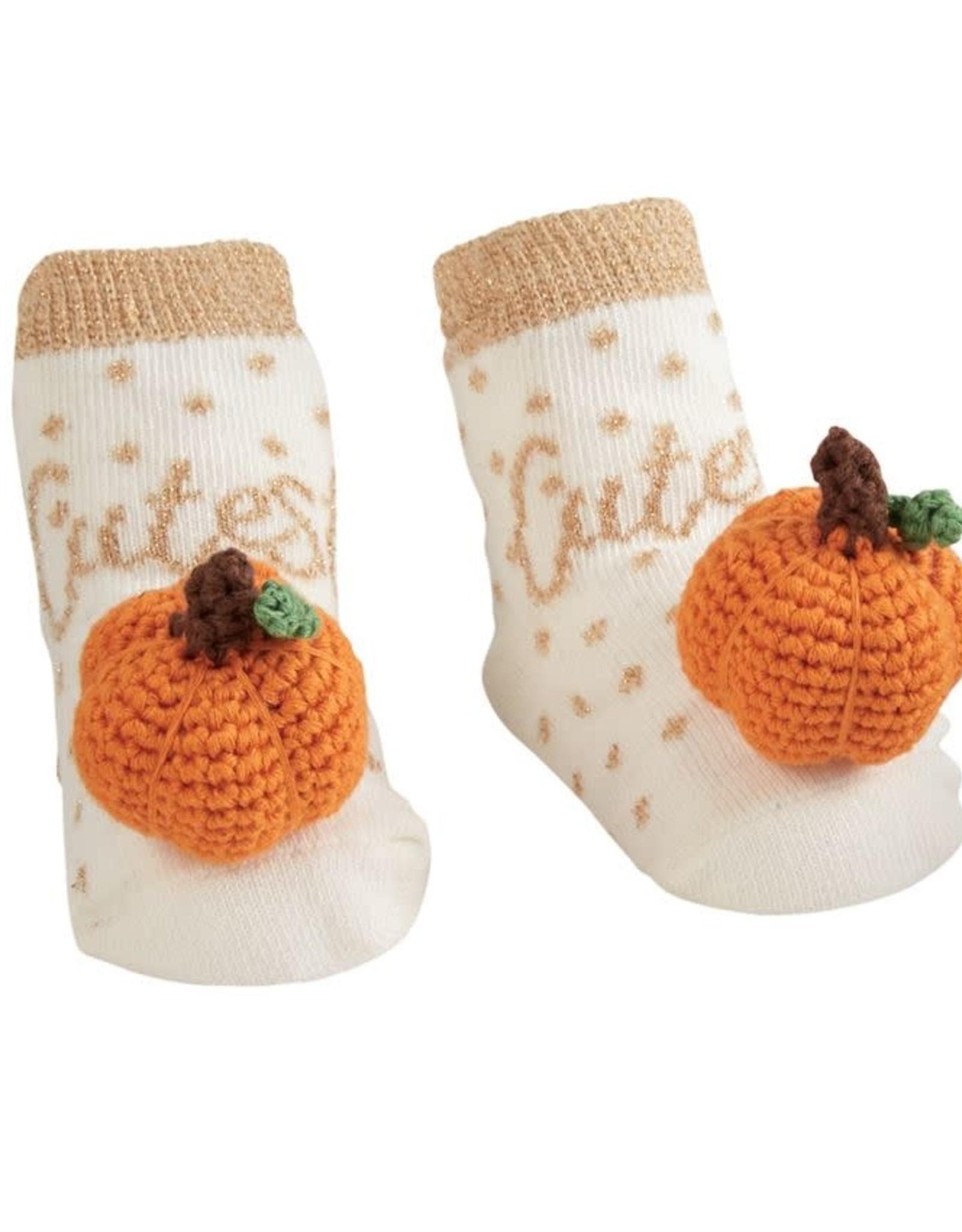 Pumpkin Rattle Toe