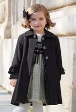 Abel & Lula Black cloth coat