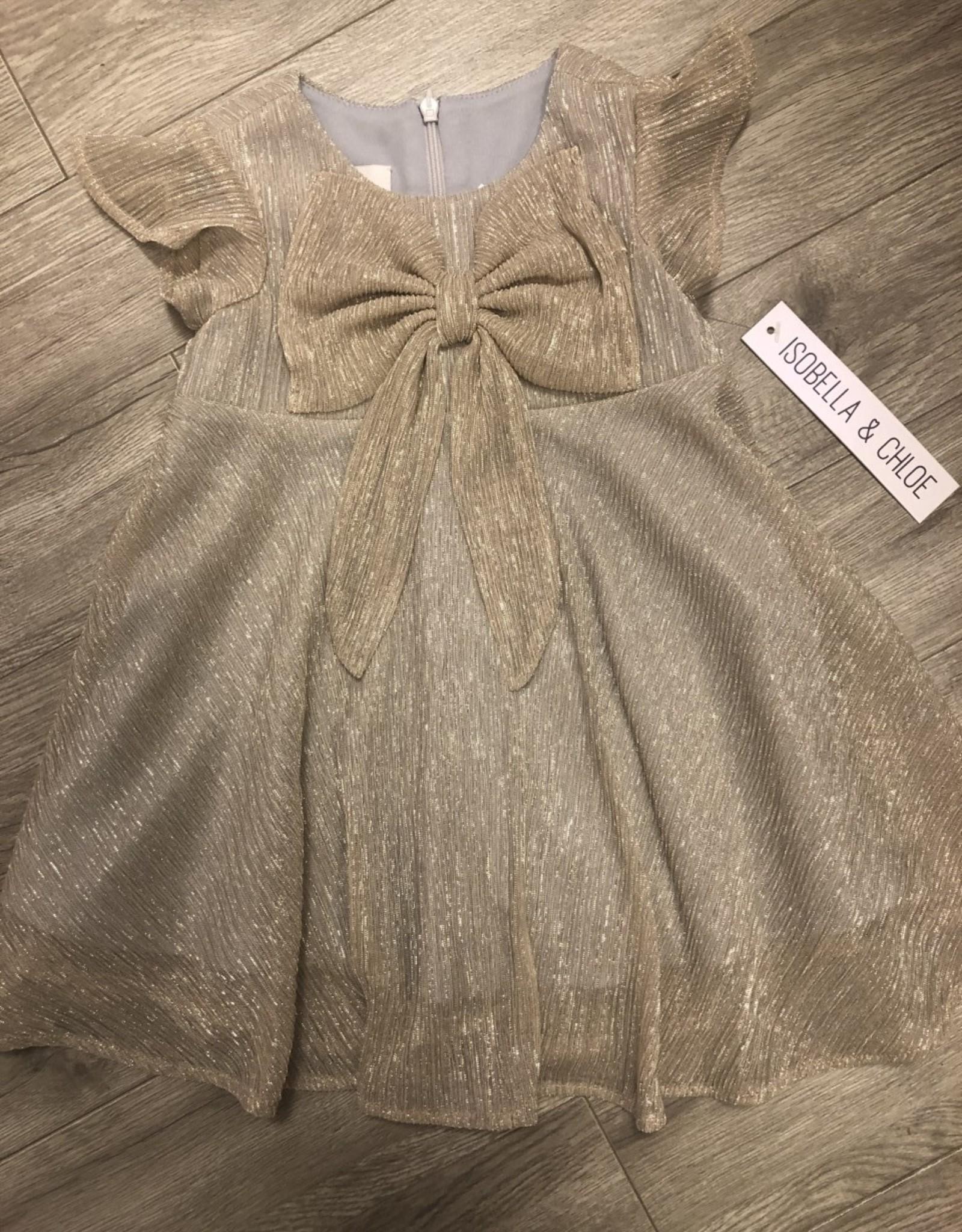 Isobella & Chloe Dazzling Darling dress w/ Bow