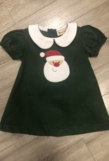 Baby Santa Drss Grn Cord