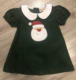 Toddler Santa Drss Grn Cord