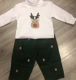 Reindeer Gree Cord Set