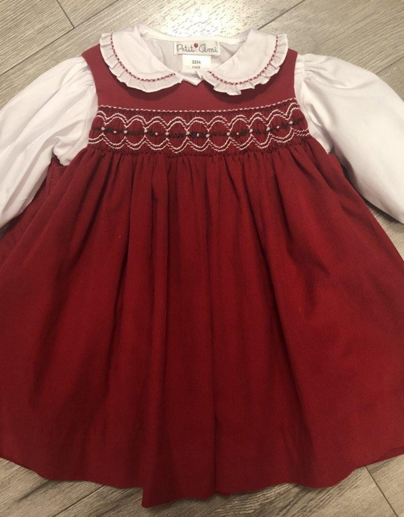 Jumper Dress w/ Shirt & Bloomer