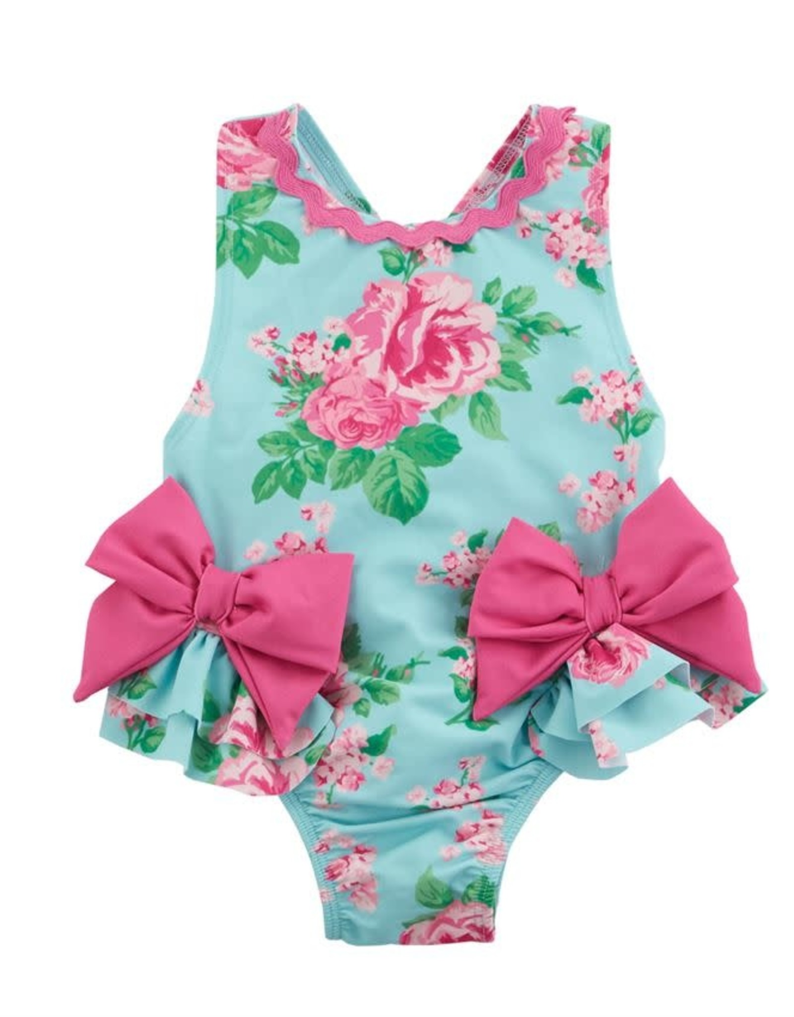Floral Bow Swimsuit