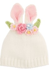 Bunny flower crown hat wh