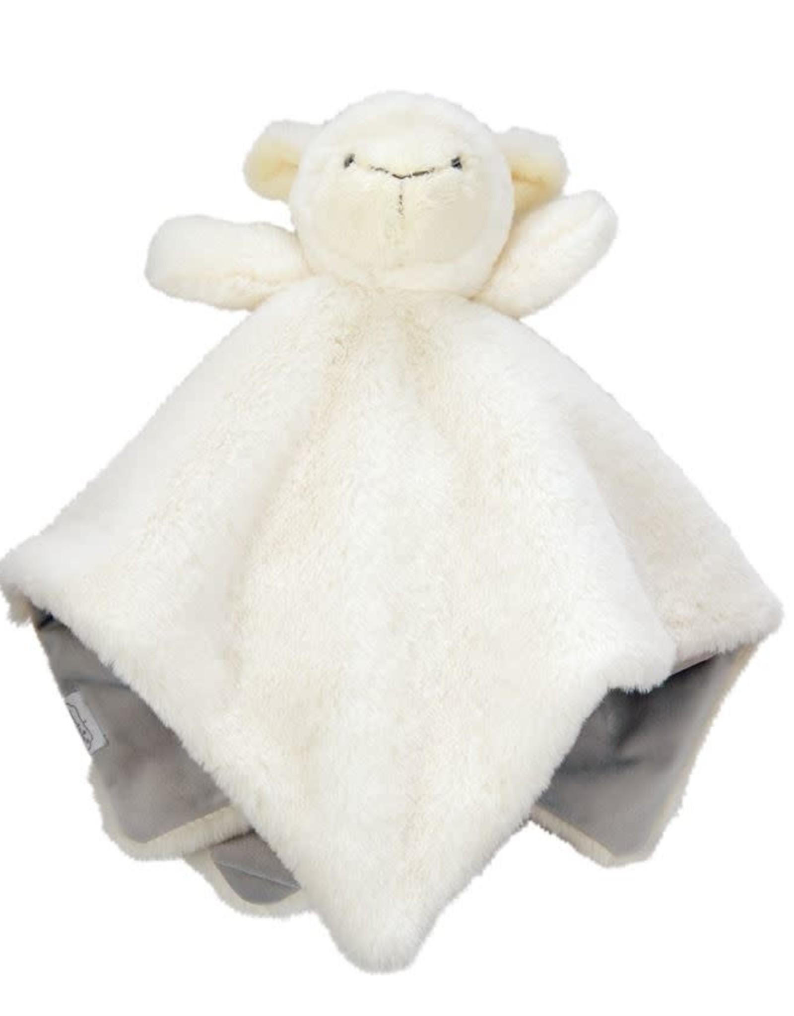 mudpie Lamb Plush Woobie