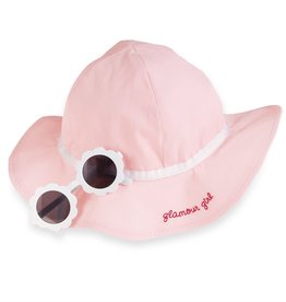 Pk Sunhat/glasses set 6-18m