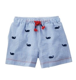 Whale Schiffli Swim trunks