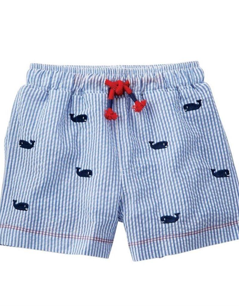 Whale Schiffli Swim trunks